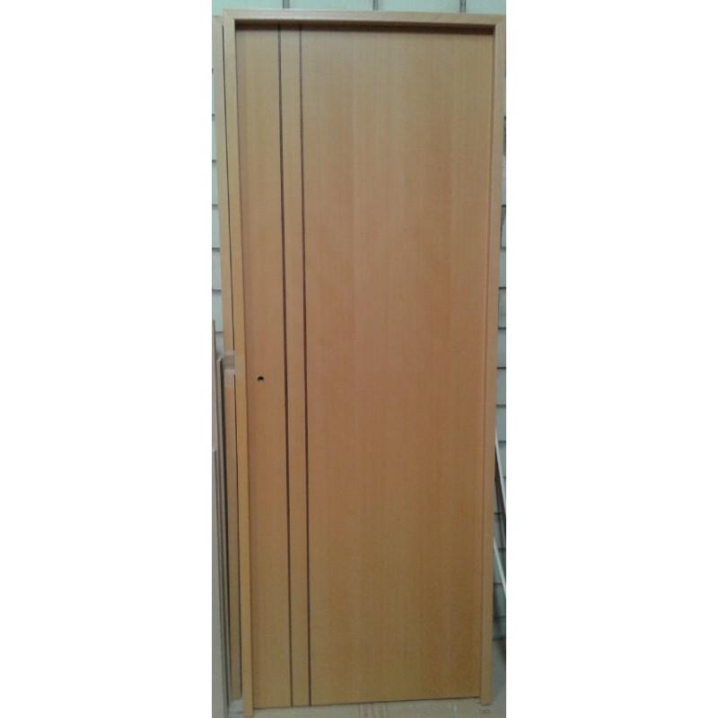 Puerta de interior en block akarpinteros for Ofertas puertas interior