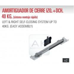 KIT DE 2 AMORTIGUADORES DE CIERRE HASTA 40kg